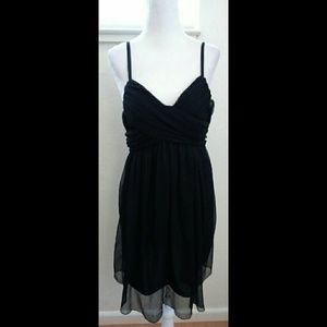 Posh Women's Black Mini Dress Size Medium